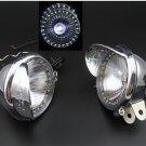 "Chrome 5"" Colorful LED Driving Passing Fog Head light Lamp Motorcycle Bonneville"