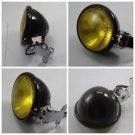 Aluminum Headlight Lamp For Harley Cafe Racer Bobber Custom Chopper Motorcycle