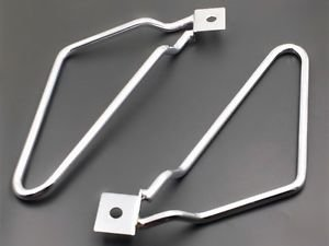 Saddle bag Support Bars Mount Bracket For Harley Sportster 883 XL Dyna Fat bob