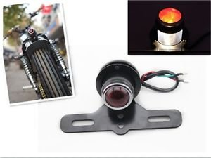 MOTORCYCLE CUSTOM BOBBER CHOPPER CAFE RACER TAIL BRAKE LICENSE LIGHT FOR HARLEY