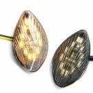 Smoke Flush Mount LED Turn Signals Lights Indicator For  Honda CBR1000RR 2004-07