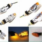 LED Turn Signal Lights Indicator Street Sport Bike Supermotor Dirt Pit Bike