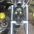 39mm Fork Clamp Spot Fog Driving Lights Turn Signal Indicator Touring Chopper