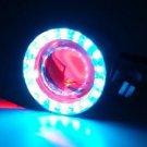 U3 CREE LED Demon Devil Eye Spot Work Driving Fog Light For Harley BMW Custom