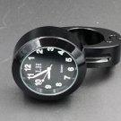 "7/8""- 1 "" Black Motorcycle handlebar Clock for HONDA SHADOW VTX 1300R CTX 700N"