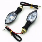 LED TURN SIGNAL FOR KAWASAKI NINJIA KLX KLR KLE  ZZR Street Sport Dirt Bike NEW