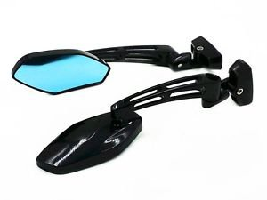 Black Sport Bike Racing Rearview Mirrors For Suzuki GSX-R 600 750 1000 Hayabusa