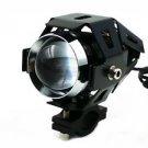 U5 CREE LED Spot Work Driving Fog Light For Harley XL FL BMW Streetbike Cruiser