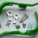 "Green 7/8"" HAND GUARDS for KDX 220R KLX DR DRZ DS YZ XT DT KTM SX Dirt Bike ATV"