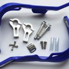Blue HAND GUARDS for Kawasaki KDX KLR Suzuki RM RMZ Yamaha Grizzly Raptor KTM