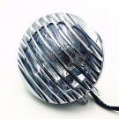 Grill High/Low Beam Motorcycle Headlight Lamp Dyna Sporster Cruiser Chopper Cafe