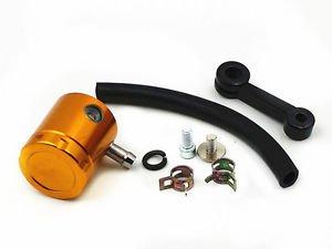 Universal Motorcycle Front Brake Tank Fluid Oil Bottle Reservoir Master Cylinder