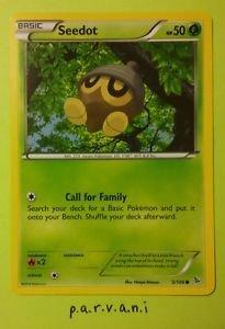 Flashfire Pokemon Card - Seedot (5 of 106)