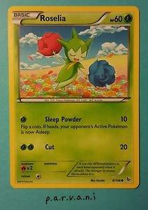 Flashfire Pokemon Card - Roselia (8 of 106)