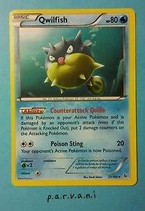 Flashfire Pokemon Card - Qwilfish (21 of 106)