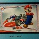 Mario Kart Wii Trading Card - Mario #5