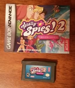 [GBA] Totally Spies 2 - Game & Manual