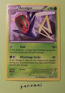 Furious Fists Pokemon Card - Accelgor (9 of 111)