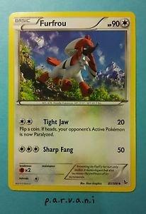 Flashfire Pokemon Card - Furfrou (87 of 106)