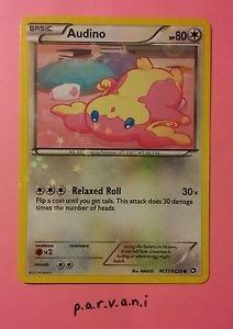 [SPARKLE] Legendary Treasures Pokemon Card - Audino (RC17/RC25)