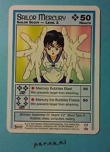 Sailor Moon Collectible Card Game - Sailor Mercury Level 2 (115/160)