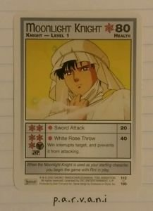 Sailor Moon Collectible Card Game - Moonlight Knight (112/160)