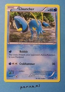 Furious Fists Pokemon Card - Clauncher (23 of 111)