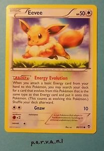 Furious Fists Pokemon Card - Eevee (80 of 111)