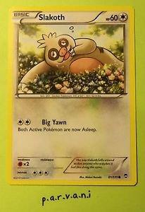 Furious Fists Pokemon Card - Slakoth (81 of 111)