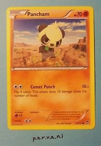 Furious Fists Pokemon Card - Pancham (60 of 111)