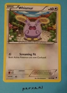 Phantom Forces Pokemon Card - Whismur (83/119)