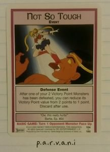 Sailor Moon Collectible Card Game - Not So Tough (104/160)