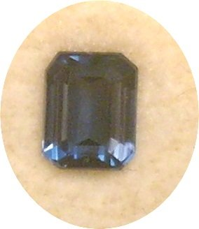 Emerald Cut London Blue Topaz