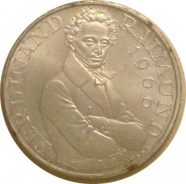 Austria 1966 25 Schilling (Ferdinand Raimund)