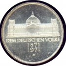 Germany 1971G 5 Mark UNC