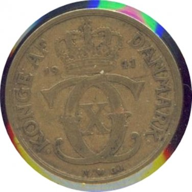 Denmark 1941 1 Krone F