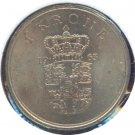Denmark 1963 1 Krone BU