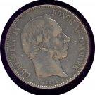 Denmark 1875 2 Krone F+