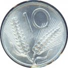 Italy 1955 10 Lire BU