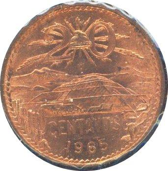 Mexico 1963 20 Centavos BU