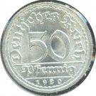 Germany 1920 F 50 Pfennig BU