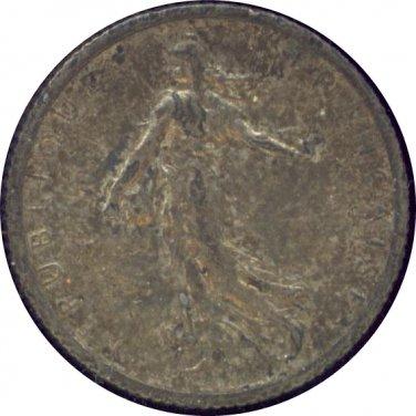 France 1917 1 Franc AU
