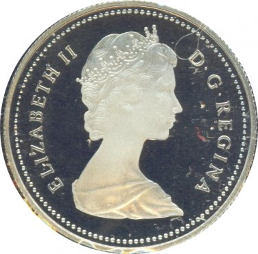 Canada 1985 50 Cents Proof