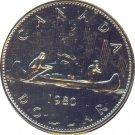 Canada 1980 Prooflike Dollar
