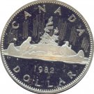 Canada 1982 Proof Dollar