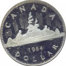 Canada 1984 Proof Dollar