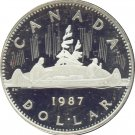 Canada 1987 Proof Dollar