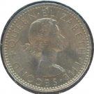 New Zealand 1958 6 Pence Unc