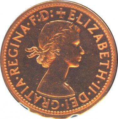 Great Britain 1970 1 Half Penny Proof