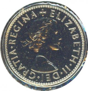 Great Britain 1970 1 Shiiling (Scotland) Proof